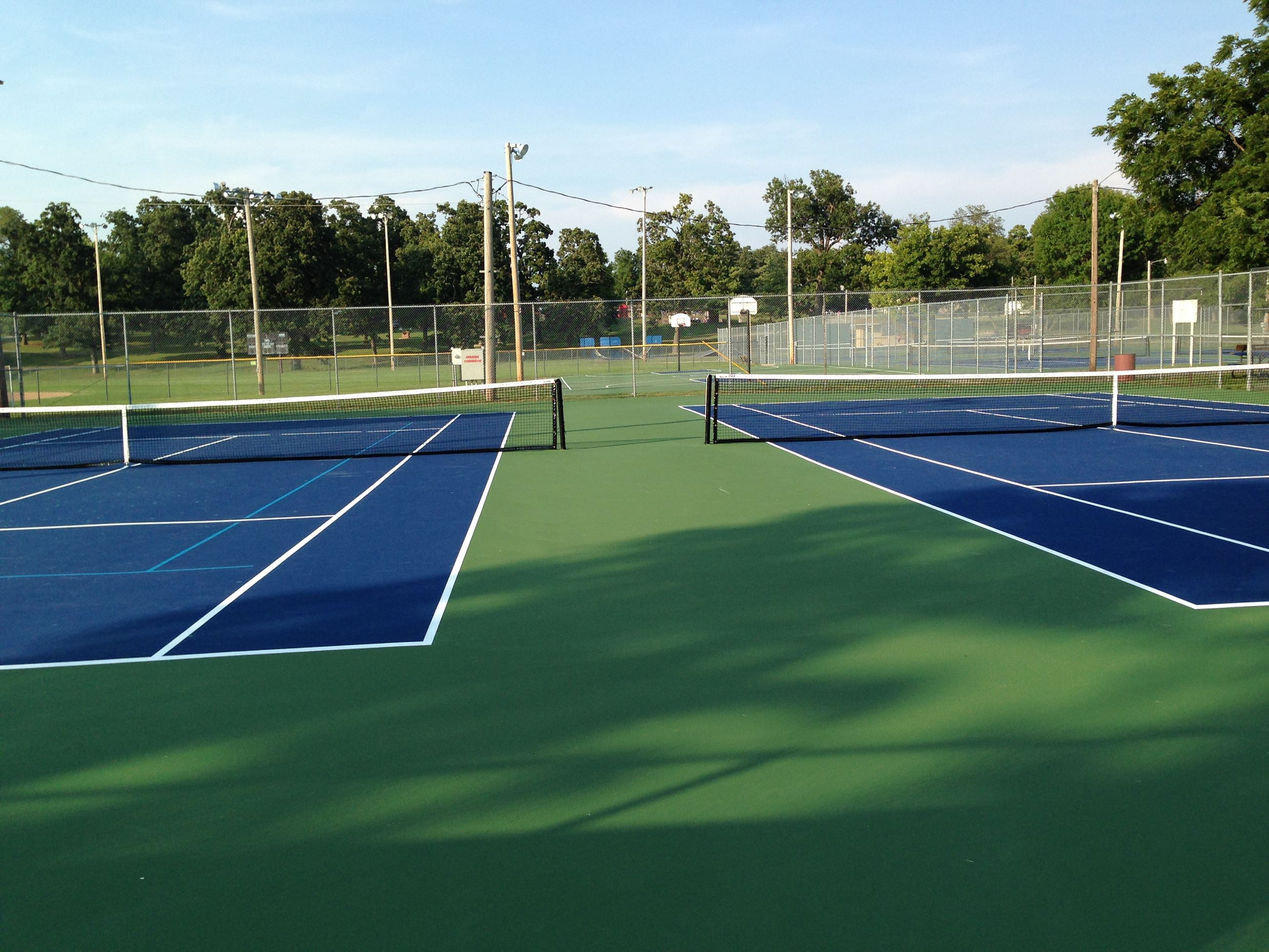 White Park tennis courts